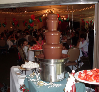 Chocolate Fountain Rental Los Angeles, CA